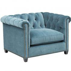 Henry Chair, Vance Bermuda - Furniture - Chairs - Fabric  - Editor's Picks - Bold & Beautiful