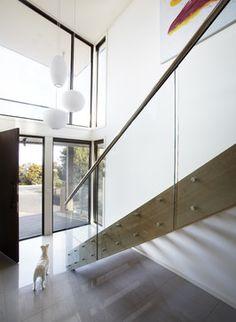 Beach House Great Ocean Rd - beach-style - Entry - Melbourne - Simpatico Interior Design