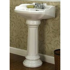 Corner Pedestal Sinks For Small Bathrooms | BATHROOM DESIGN PEDESTAL SINK |  Bathroom Design   TOP 10 | Decorating Tips | Pinterest | Corner Pedestal  Sink, ...