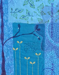 Deborah Boschert, Indigo Garden, detail