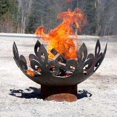 beautiful fire bowl