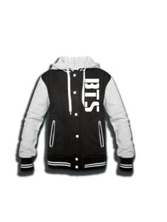 2-Sided BTS N.O Replica Varsity Jacket – ReplayReplay