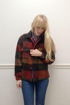 LAWRENCE — Plaid Wool Jacket
