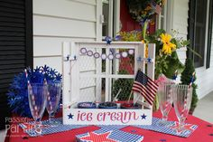 Birthday Party Blog: 4th of July Porch Party and a Giveaway!