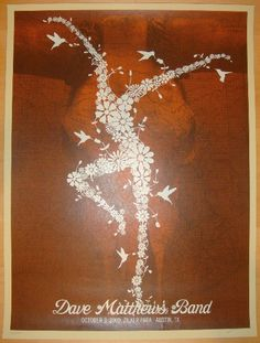 2009 Dave Matthews Band - ACL Festival Concert Poster by Methane