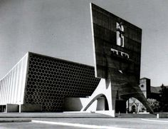 St John's Abbey and University - Marcel Breuer, completed in 1961, Collegeville Minnesota