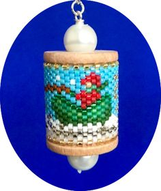 Horse & Sleigh Spool Ornament