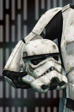 Helmet Series: Stormtrooper by Scott Zambelli