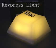 i bought the white ESC key one...so cool!