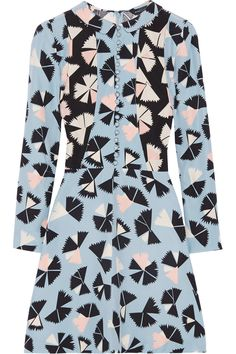 Marc by Marc JacobsFrances printed silk crepe de chine dress