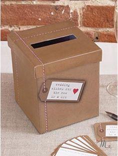 Box porta messaggi - C'è posta per te. Misure: 18 cm x 14 cm. #box #buste #messaggi #matrimonio #weddingday #ricevimento #wedding #sconti #offerte #portamessaggi #biglietti #busteregali