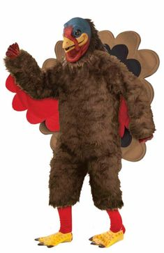 2ff6d11d9 #Turkey #Thanksgiving #Mascot #Costume #Halloween Thanksgiving Costume,  Turkey Halloween Costume
