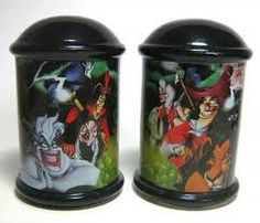 disney villains salt & pepper...I have these on my table! I love them!!