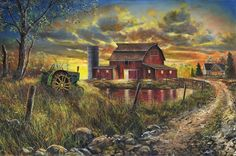 New Jim Hansel PHEASANT PRINT Autumn Harvest SN