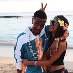 Big Sean And Naya Rivera Make A Getaway To Hawaii