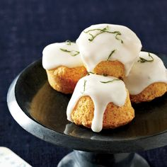 Almond, Elderflower and Lime Travel Cakes Recipe - William Werner   Food & Wine