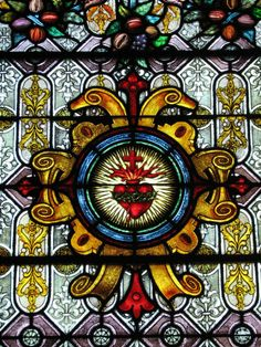 Sacred Heart of Jesus Stained Glass