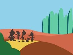 Mellow Brick Road (Wizard Of Oz Remix) Very nice simple animation