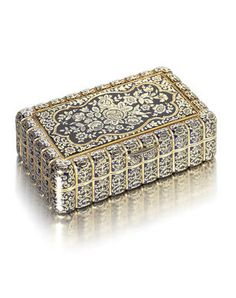 Bonhams : Fine Silver and Gold Boxes