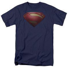 Superman Man of Steel: Mos Shield T-Shirt