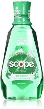 Scope Mouthwash Original Mint Oz Pack): It's an original. A classic that leaves your breath feeling clean, and you feeling confident enough to get close. Best Mouthwash, Dental Supplies, Bad Breath, Health And Beauty, How Are You Feeling, Packing, Mint, Cleaning, The Originals