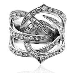 Stephen Webster Diamond Thorn Ring