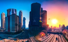 Lataa kuva 4k, GTA5, kaupunki, Grand Theft Auto V, GTA V