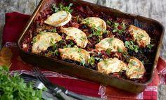 Kaali-punajuuripaistos - Jarvikyla Cakes And More, Sprouts, Potato Salad, Cauliflower, Potatoes, Meat, Chicken, Vegetables, Ethnic Recipes