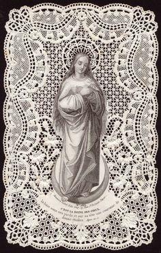 Paper Shrines: Virgin Mary