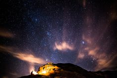 Campfire in Jordan (Petra), by Isaac Gautschi via 500px