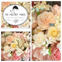 Signature Mischief Maker Sugar Flowers / My daughter Alex (The Mischief Maker) #mischiefmakercakes