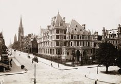 5th Avenue & 58th - in the good years !  Vanderbilt House.  Great life in NY then...