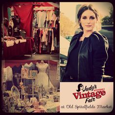 Style icon and vintage fashionista Olivia Palermo recently mentioned Judy's Affordable Vintage Fair in Old Spitalfields Market, as one of THE places to shop for all your vintage goodies in London.   #vintage #fashion