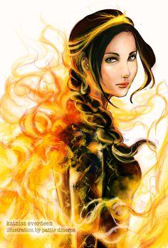 Katniss Everdeen by ~Patsie