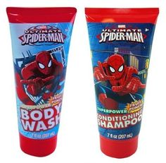 Introducing Spiderman Body Wash  Shampoo. Get Your Ladies Products Here and follow us for more updates! Baby Shampoo, Body Wash, Super Powers, Spiderman, Fruit, Products, Spider Man, The Fruit, Beauty Products