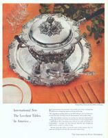Webster-Wilcox Chafing Dish Set 1956 Ad Picture