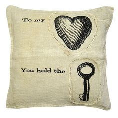 I pinned this To My Heart Pillow from the Sugarboo event at Joss & Main!