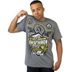 T-Shirt Ecko MMA Zero Opposition metal grey ★★★★★