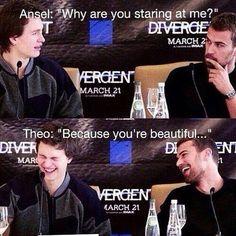 Divergent interview|funny