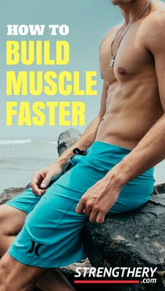 So, you want to pack on some muscle and you want it fast? How to build muscle faster is what is on the mind of most beginners and intermediates. Learn the things that matter the most for fast muscle growth here! Fast Muscle Growth, Build Muscle Fast, Gain Muscle, Weight Training For Beginners, Weight Training Workouts, Interval Training, Training Tips, Muscle Fitness, Mens Fitness