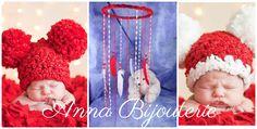 Red Baby Mobile handmade exclusive Dreamcatcher bedroom Baby Mobiles bedding…