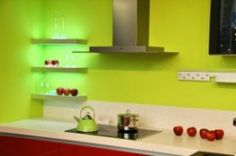 Peinture cuisine on pinterest cuisine robert ri 39 chard and two toned kitchen for Peinture cuisine