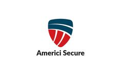 Americi Secure Logo by @Graphicsauthor