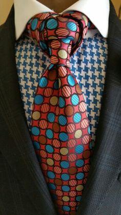 Dot Pop Necktie WWW.THECORVANCOLLECTION.COM #thecorvancollection #neckwear…