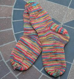 These easy socks are great for the little people in your life, and they'll get you comfortable with the parts of a sock on a small scale if you're new to sock knitting.