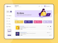 Pitch Dashboard by Shivangi Mahajan on Dribbble Dashboard Interface, Web Dashboard, Ui Web, Dashboard Design, Interface Design, Design Thinking, Web Ui Design, Design Design, Graphic Design
