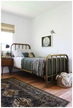 Home Interior Bedroom Little House of Four: {Friday Finds} 5 Stunning ORC Makeovers.Home Interior Bedroom Little House of Four: {Friday Finds} 5 Stunning ORC Makeovers Modern Farmhouse Bedroom, Farmhouse Style, Modern Bedroom, Modern Bedding, Eclectic Bedding, Bedding Decor, Rustic Bedding, Stylish Bedroom, Black Bedding