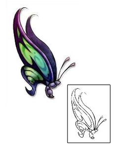 746489874 Butterfly Tattoos DBF-00398 Created by David Bollt Insect Tattoo, Butterfly Tattoo  Designs,