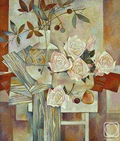 Королькова Мария. Натюрморт с розами