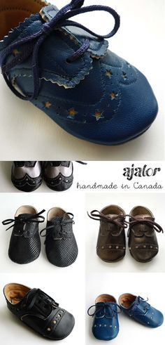 AJALOR handmade leather shoes in canada